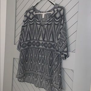 H&M V neck top